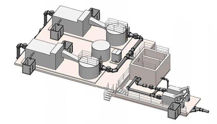 smart water technology morro bay plant rendering detail