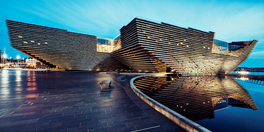 architectural visualization v@a dundee in scotland