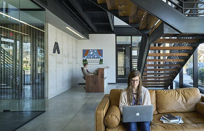 tree house architecture bentonville arkansas office by modus studio