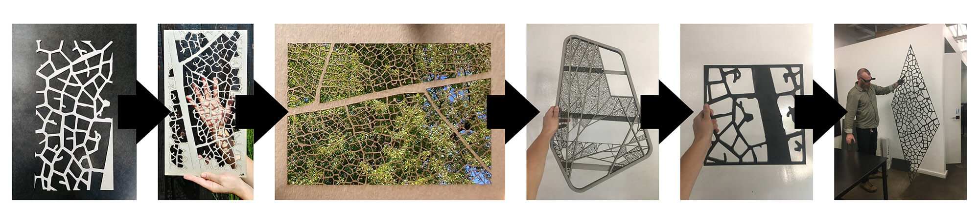 tree house architecture modus fabricating metal screen process