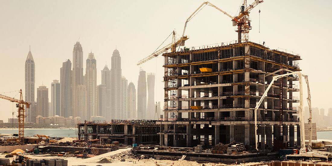 embodied carbon calculator new construction project in dubai