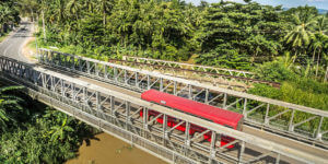 Modular Bridges Provide On-Demand Infrastructure for Disaster Relief