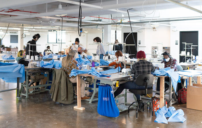 From Fighting Fashion-Industry Waste to Making PPE: Detroit Sewing to the Rescue