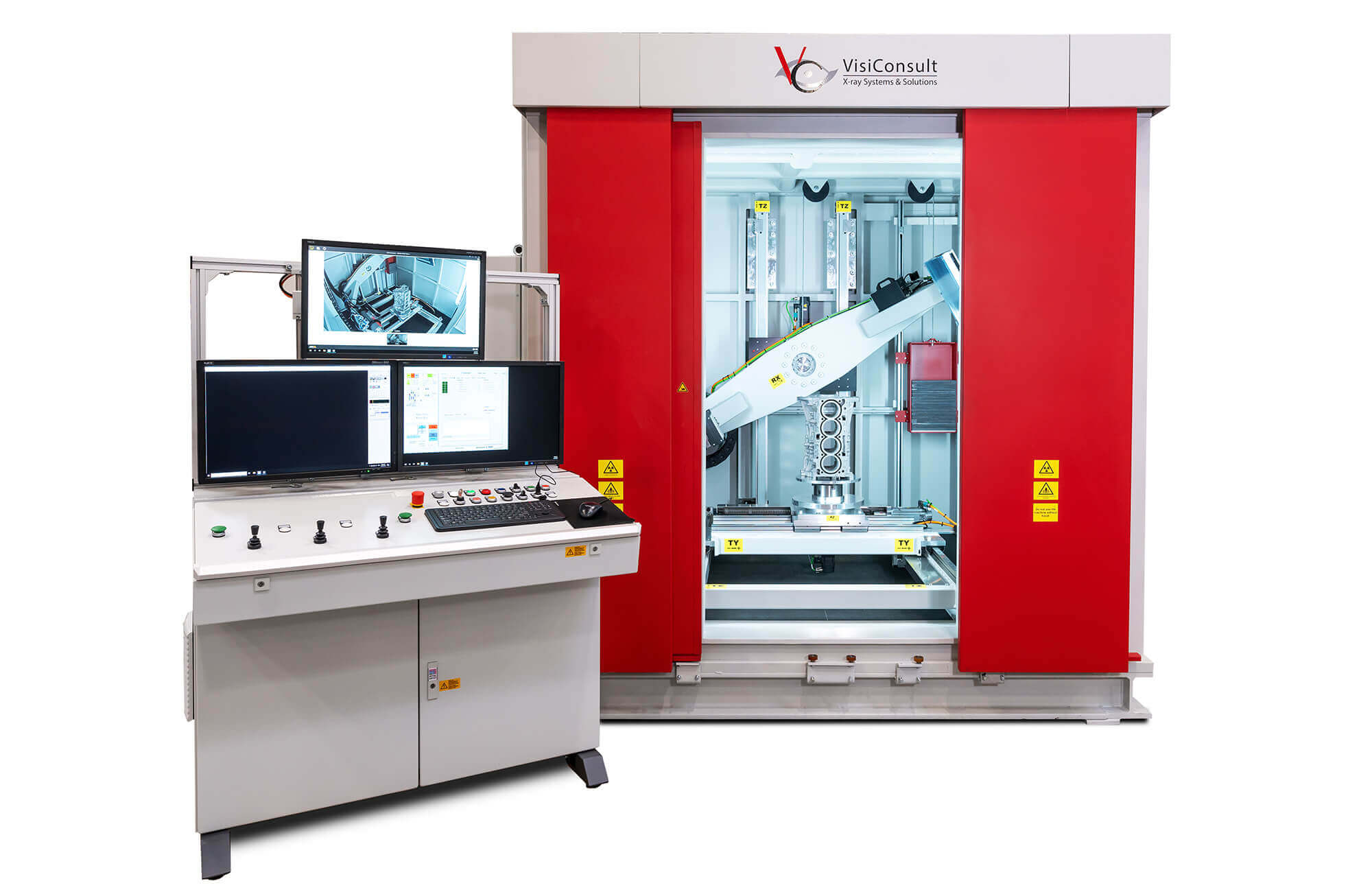 industrial x-ray machine visiconsult cabin
