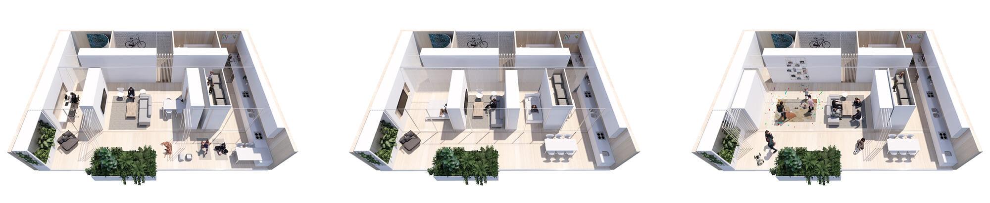 "architecture 2020 Woods Bagot's ""AD-APT"" proposal"