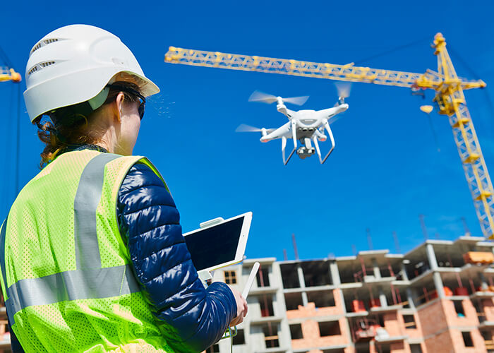 Embracing technologies could change the future of the construction industry.