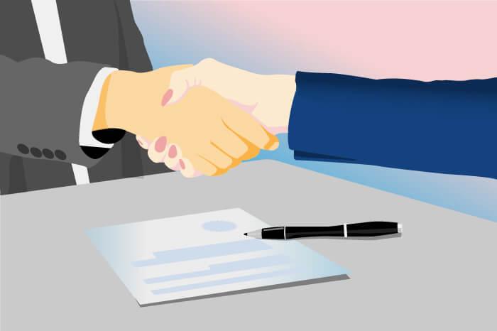 coronavirus business recovery handshake handshake