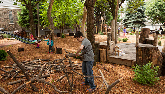 coronavirus city planning McKinley Park Community Play Garden