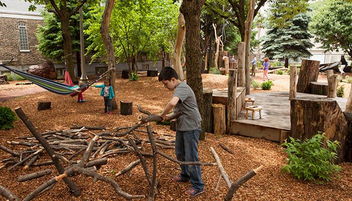 coronavirus city planning McKinley Park Community Play Garden