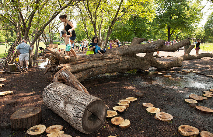coronavirus city planning Welles Park natural playspace