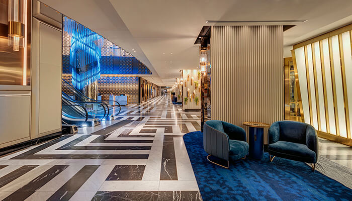 design partnerships interior at the star casino in sydney
