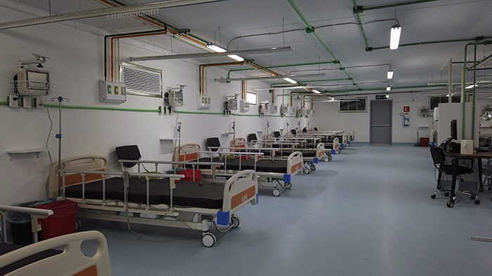 modular hospitals cemex interior