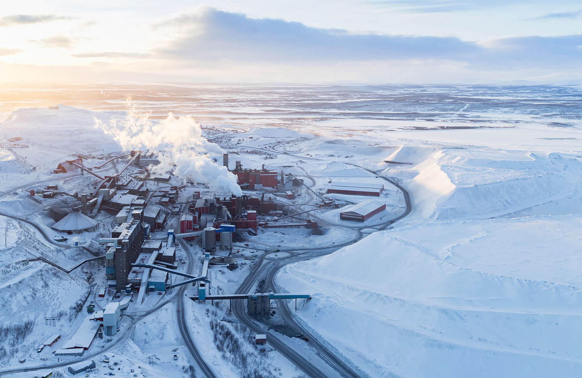 Kiruna Relocation LKAB Mining company