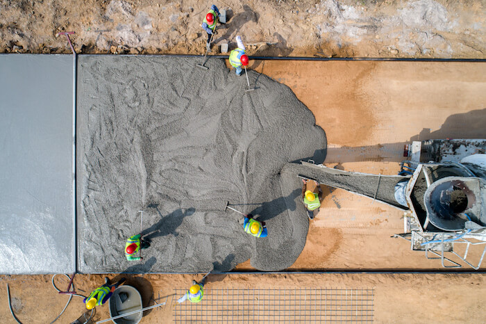 Public–Private Partnership in Infrastructure Development construction workers pouring cement