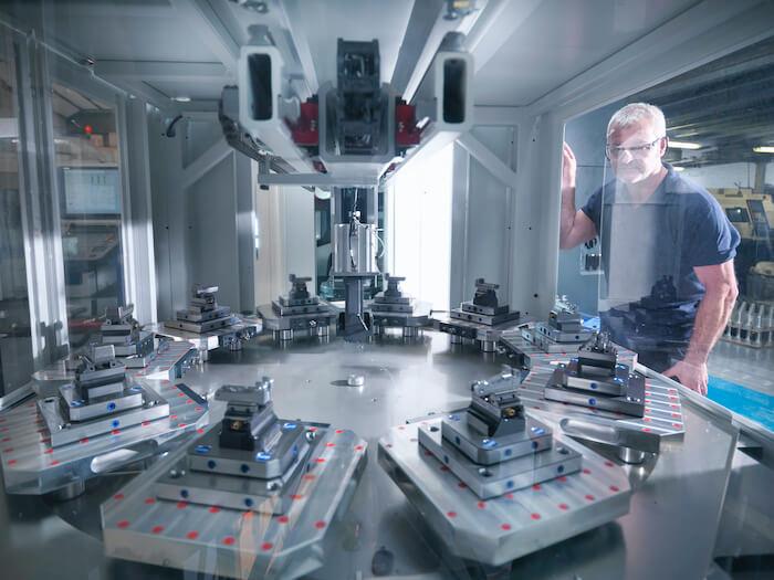 smart manufacturing machine cnc lathe