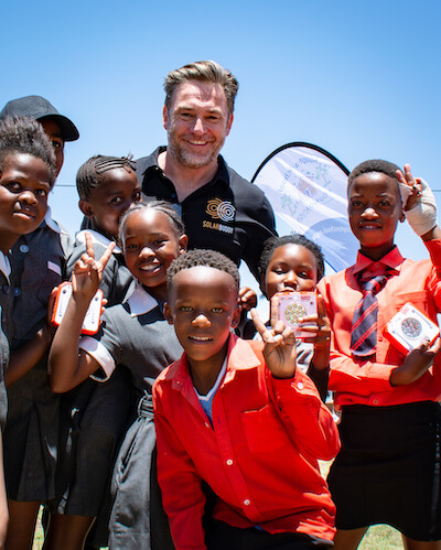 energy poverty solarbuddy founder simon doble in south africa