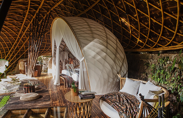 sustainable construction moon house bali indonesia
