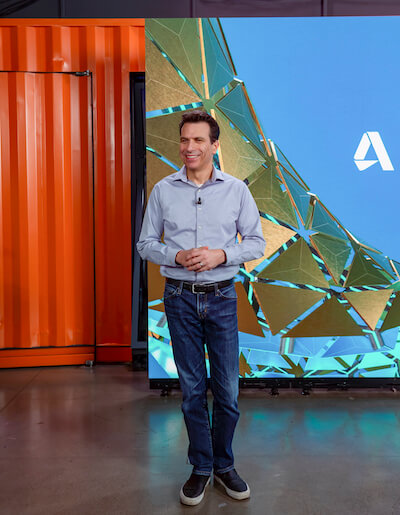 autodesk university 2020 andrew anagnost