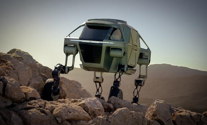 generative design in manufacturing hyundai elevate concept car