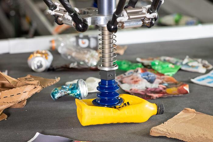 plastic problem amp robotics robot sorting plastic