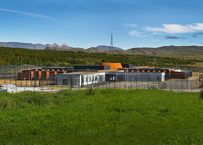 Holmsheidi is the first prison built in Iceland since the late 1800s.