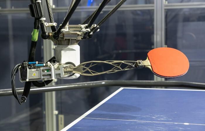 human robot collaboration titanium arm on forpheus