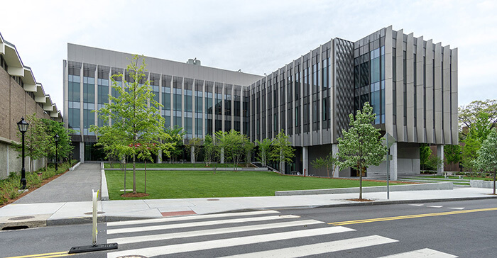 Exterior of Brown University Engineering Research Center