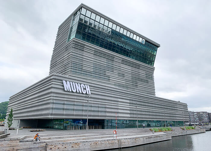 Norway sustainable development: The Munch Museum is set to open in October 2021.