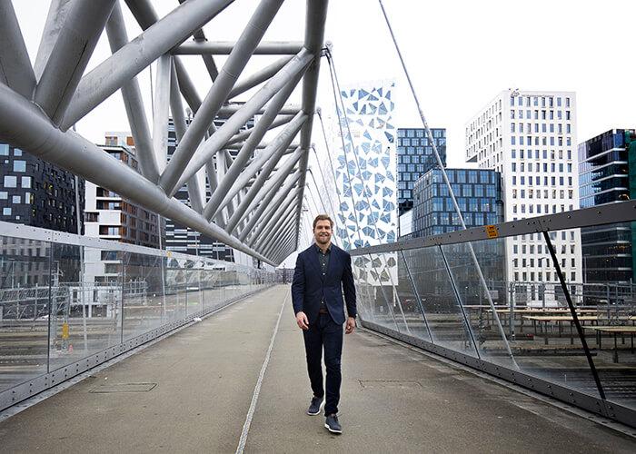 Multiconsult's Chief Digital Officer, Herman Bjørn Smith. Courtesy of Multiconsult.