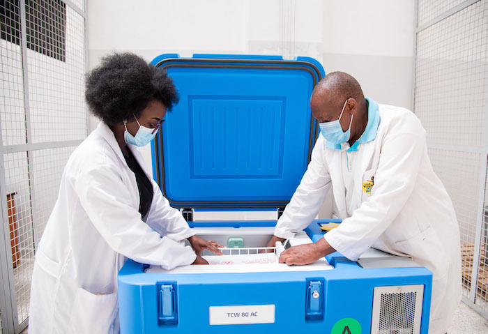 vaccine management in emerging markets nexleaf coldtrace sensors are evaluated by engineers