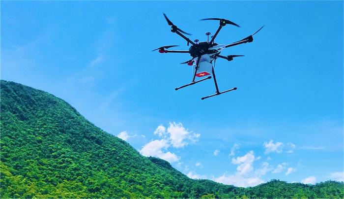 vaccine management in emerging markets werobotics modified drones