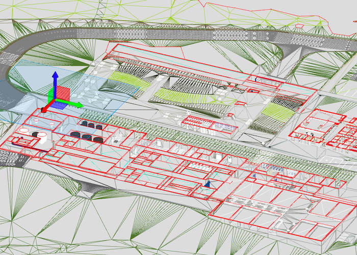 Smart City in France: Image of the Saint-Brieuc Armor Agglomération future drinking water treatment plant.