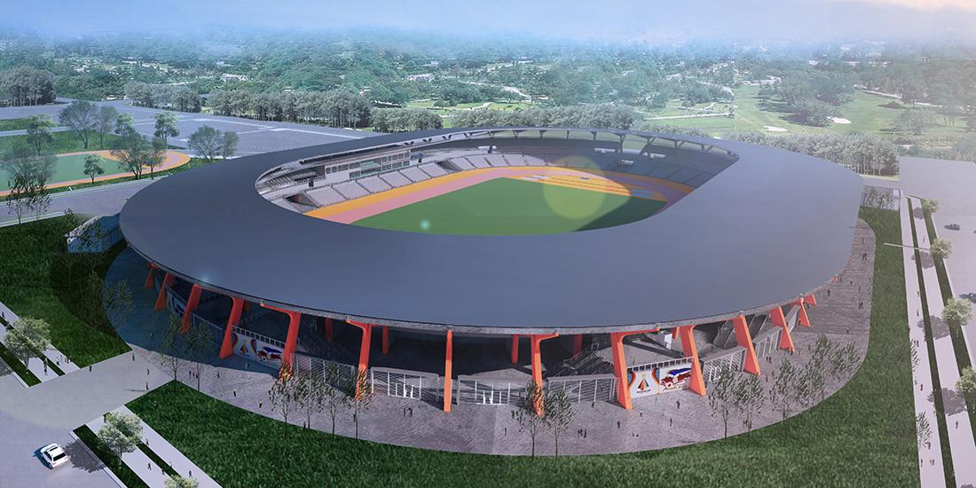 sports stadium design for 2019 sea games