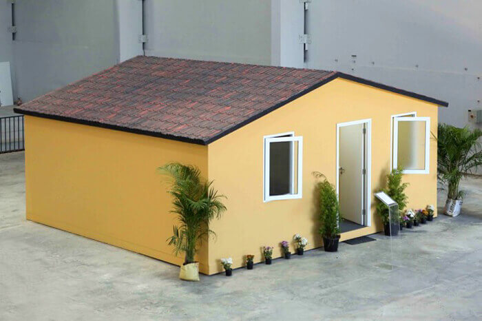 Affordable home created using modular construction in India