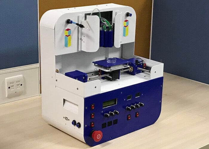 3d bioprinting skin Trivima 3D printer