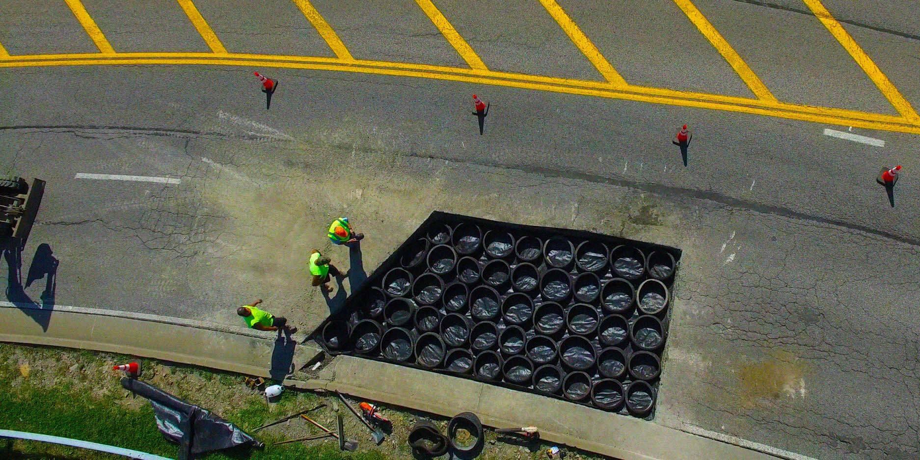 7 potholes