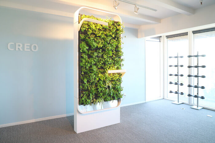"food science and technology CREO Design airIQ ""smart living wall"""
