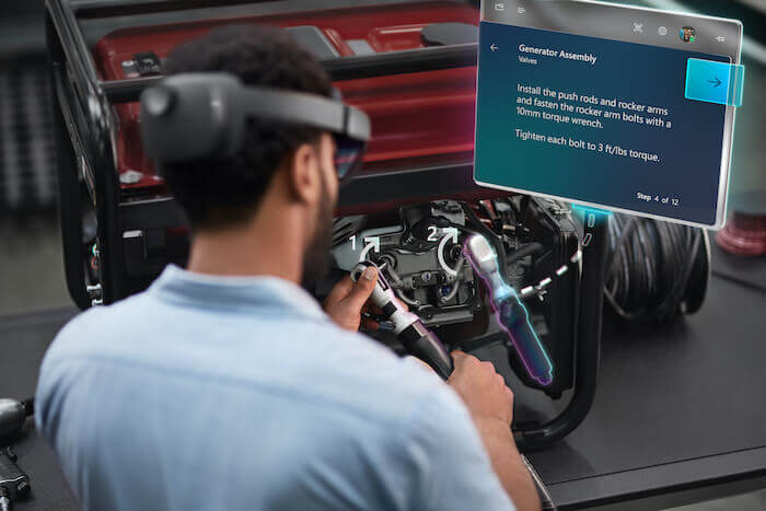 smart manufacturing microsoft hololens