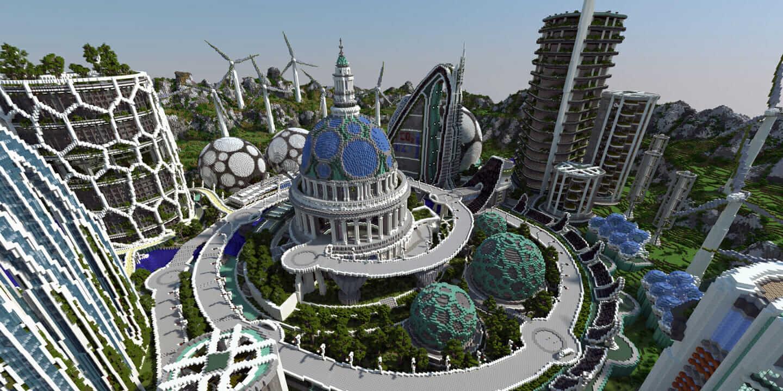 MinecraftArchitektur Was Architekten Von Einem Videospiel Lernen - Minecraft haus bauen lernen
