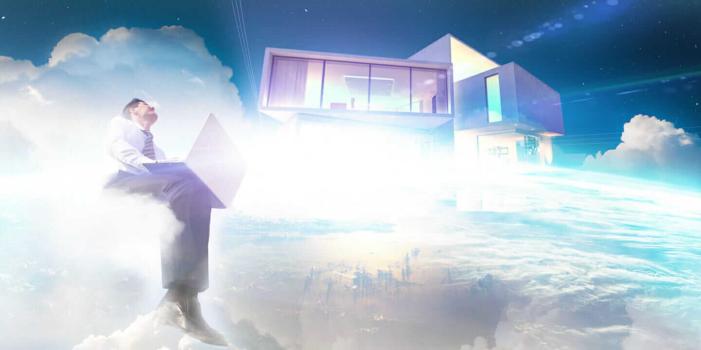 Das Arbeiten in der Cloud ermöglicht Architekturbüros ganz neue Möglichkeiten. Bildgestaltung: Micke Tong.