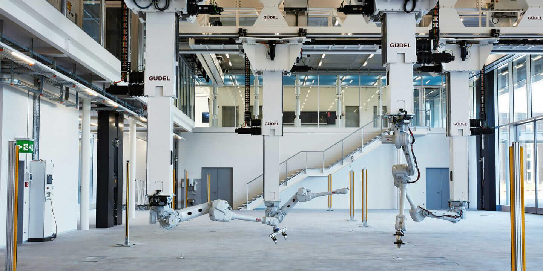 Bauen im Großformat: Das Arch_Tec_Lab als Testumgebung für roboterbasierte Fabrikation in der Architektur