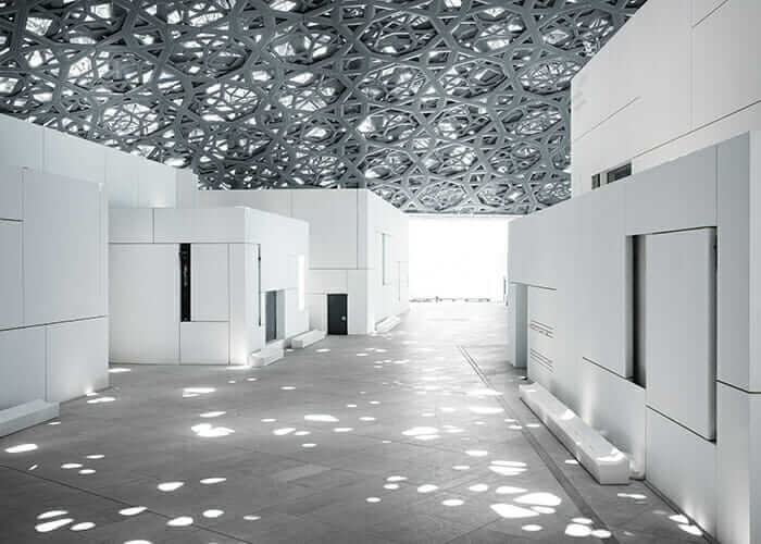 louvre abu dhabi rain of light