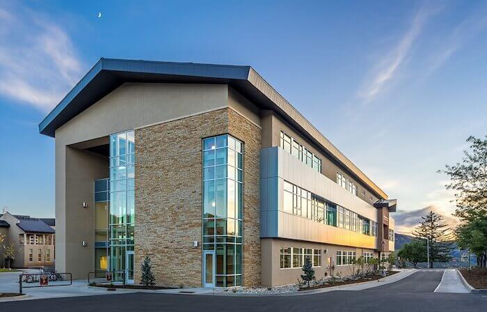 green building technology Fort Lewis College Sitter Family Hall