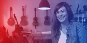 Gitarrenbauerin Rachel Rosenkrantz vereint traditionelles Handwerk mit neuen Technologien
