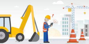 IoT-Technologie kann für mehr Sicherheit und Effizienz auf der Baustelle sorgen