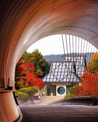 Das Miho Museum in der Nähe von Kyoto. Mit freundlicher Genehmigung des Miho Museums.