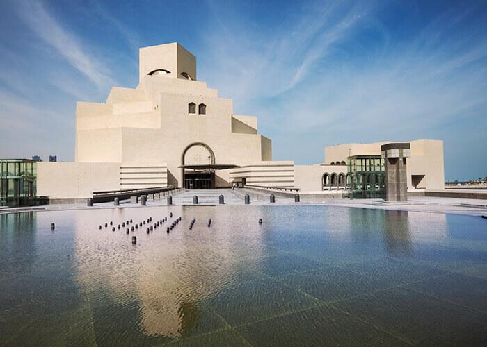 Das Museum für Islamische Kunst in Doha, der Hauptstadt von Katar