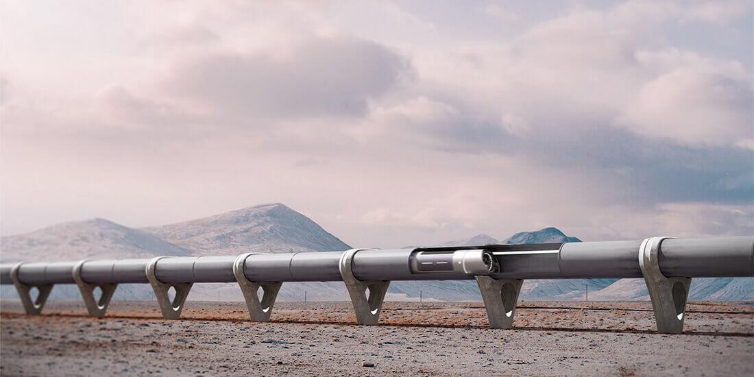 Sofern Hyperloop-Betreiber das benötigte Gelände mieten können, könnten die Strecken zum Preis einer Hochgeschwindigkeitsbahn gebaut werden. Mit freundlicher Genehmigung von Zeleros.