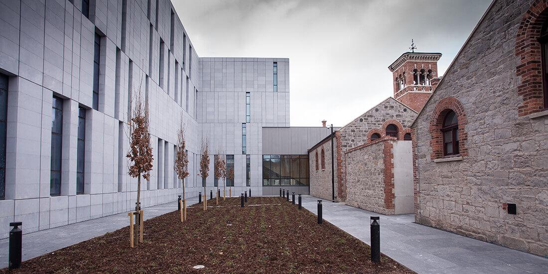 Das historische Gerichtsgebäude in Cork wurde modernisiert und erweitert. Mit freundlicher Genehmigung von BAM Ireland.