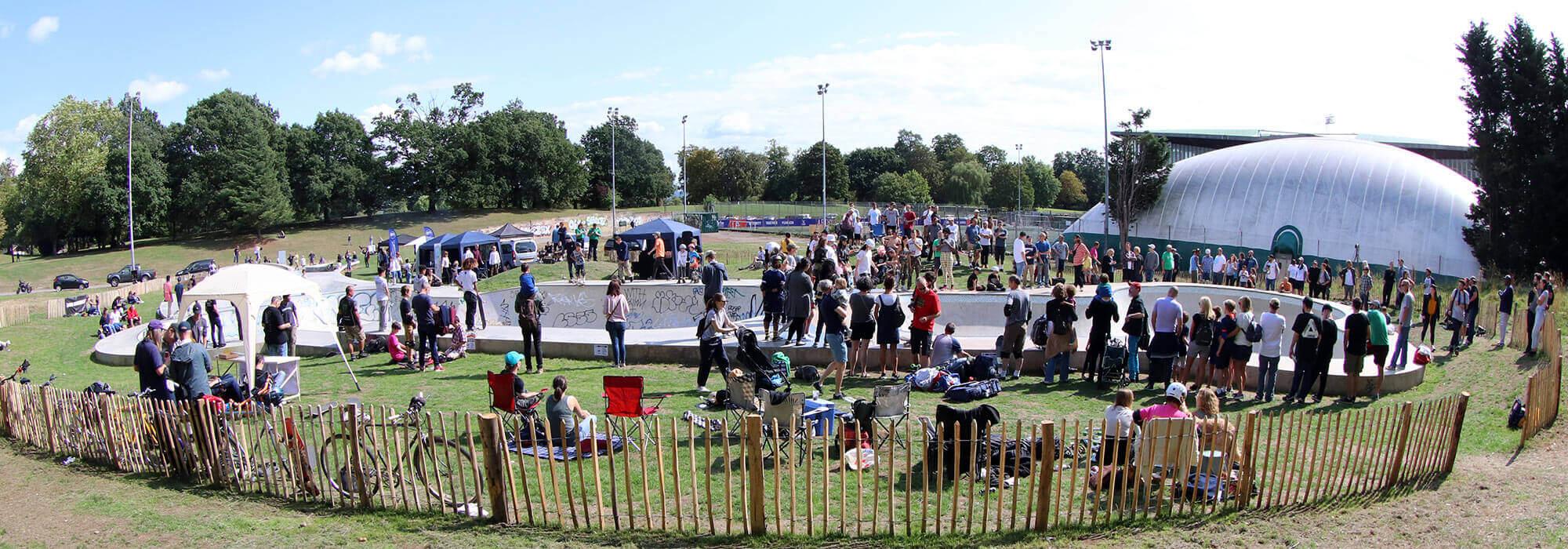 Der Summer Jam im Crystal-Palace-Park. Mit freundlicher Genehmigung von Iain Borden.